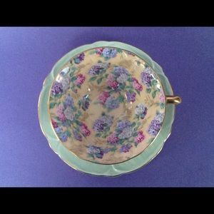 Other - Shelley Purple Pink Hydrangea Teacup And Saucer